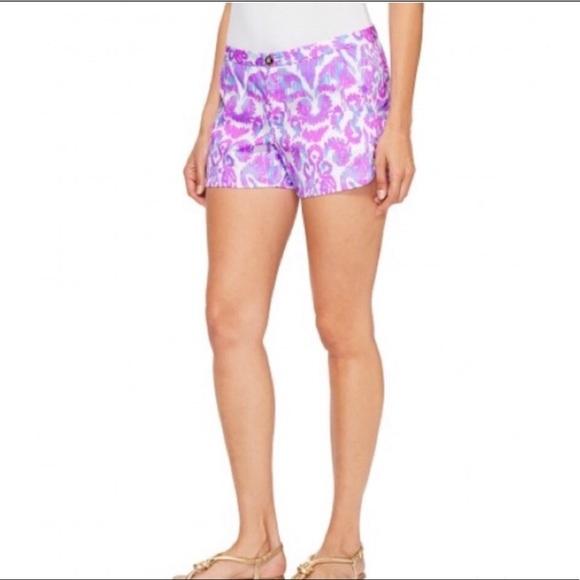 LILLY PULITZER Amethyst Beach Bathers Shorts